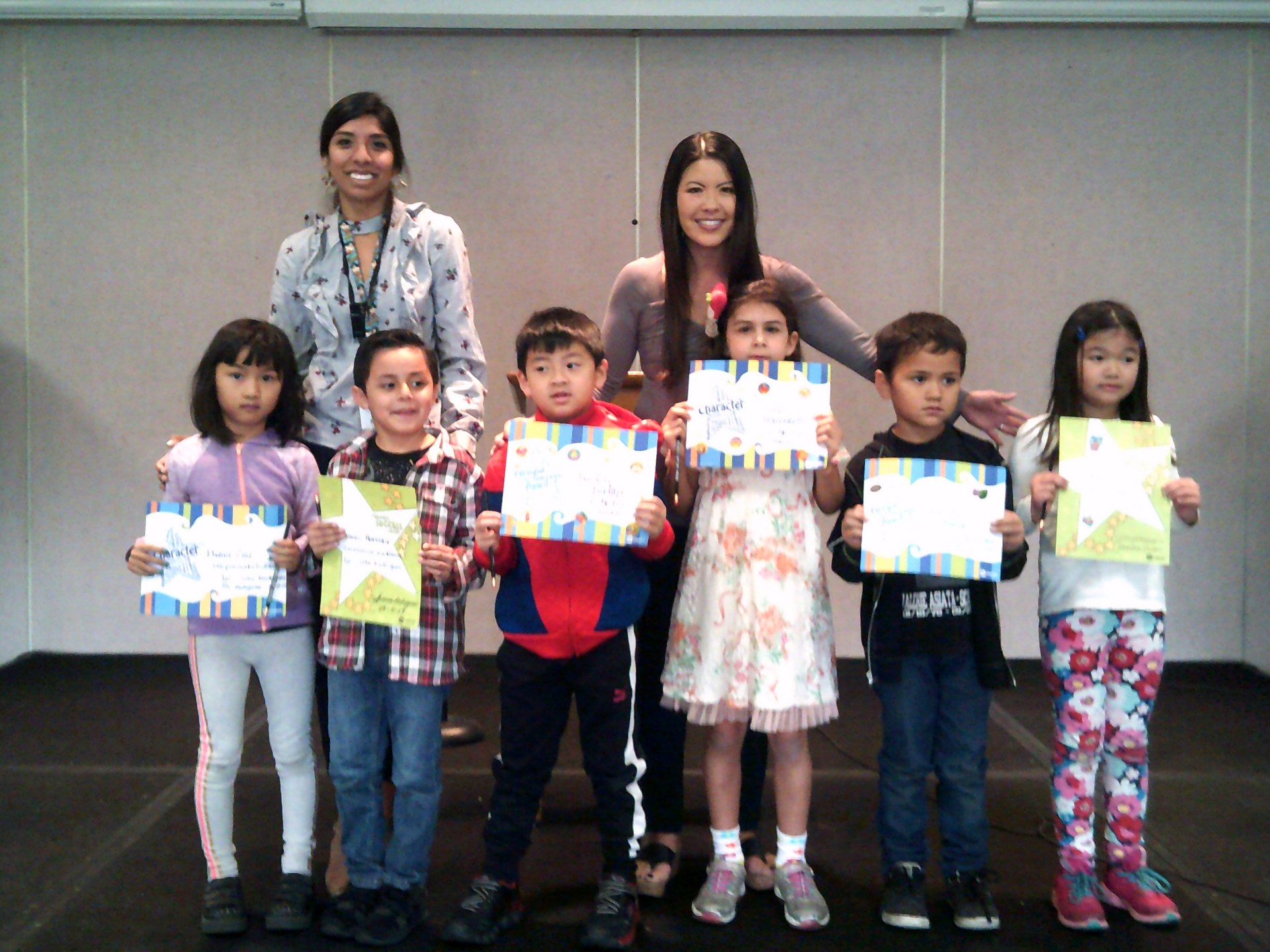Ms. Rodriguez's & Mrs. Kim's November Honorees