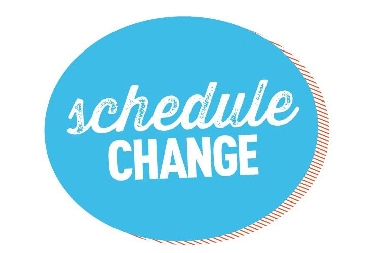 Schedule Change Clip Art