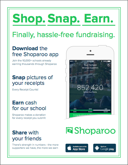 Use Shaparoo to Raise Money for Your School Thumbnail Image