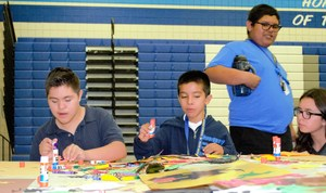 BPUSD_SELPA_1: Students from Baldwin Park Unified's Central Elementary joined more than 850 students from across the region to explore an abundance of arts-based activities during the third annual Community Advisory Committee (CAC) of the East San Gabriel Special Education Local Plan Area (SELPA) Festival of the Arts on Oct. 30. Baldwin Park Unified was among 10 school districts and six charter schools to take part in the morning-long celebration of the arts organized by the CAC, a parent advisory group.