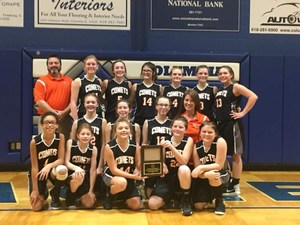 2017 Junior High Cahokia Conference Champs!
