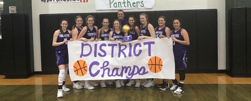 Jacksboro Tigerettes are District Champs! Thumbnail Image