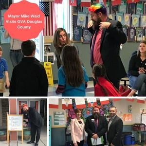 mayor Mike Waid visit