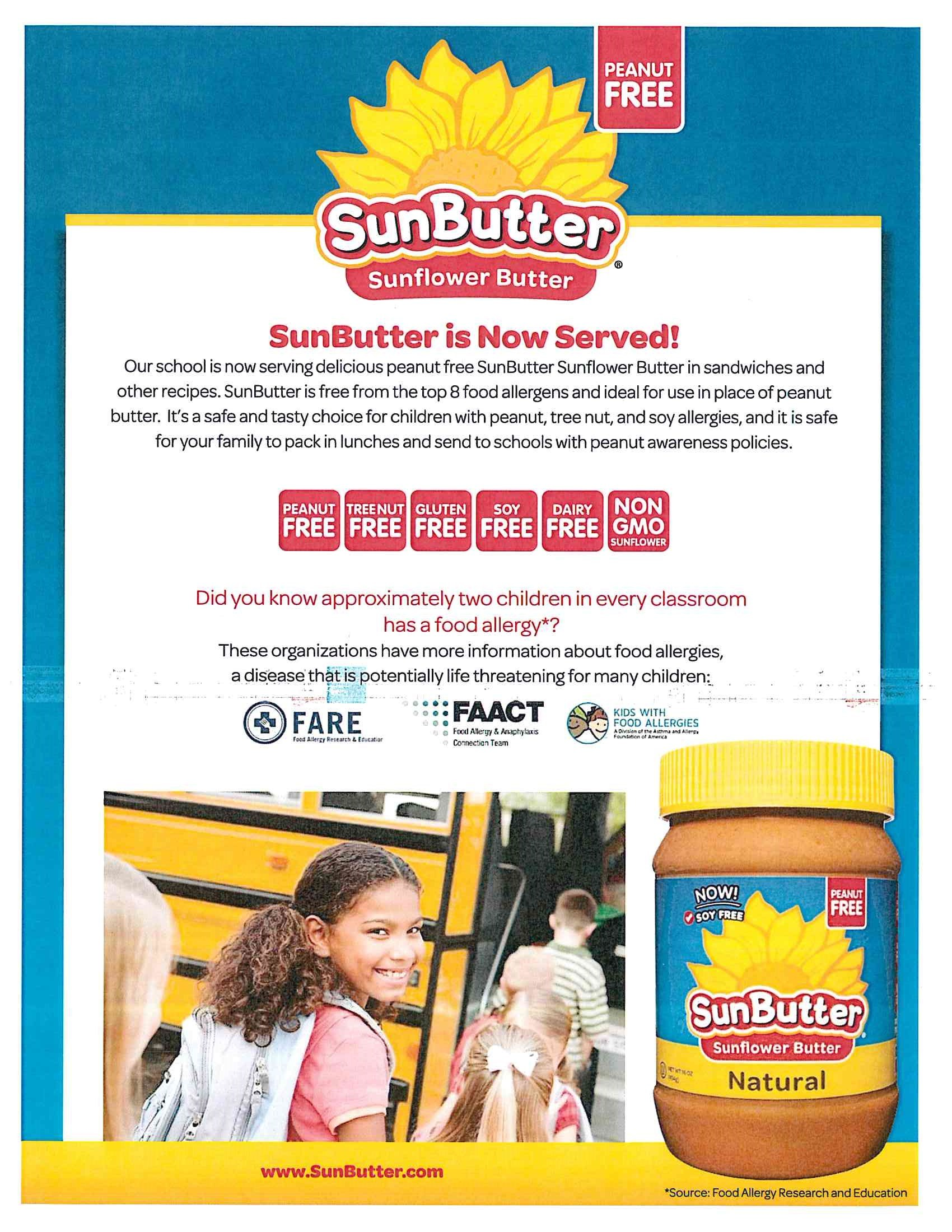 Sun Butter & Jelly Sandwiches Coming Soon!