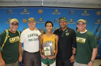 Canyon Cross Country going to state meet