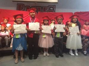 Biliteracy Award Winners at Meairs!
