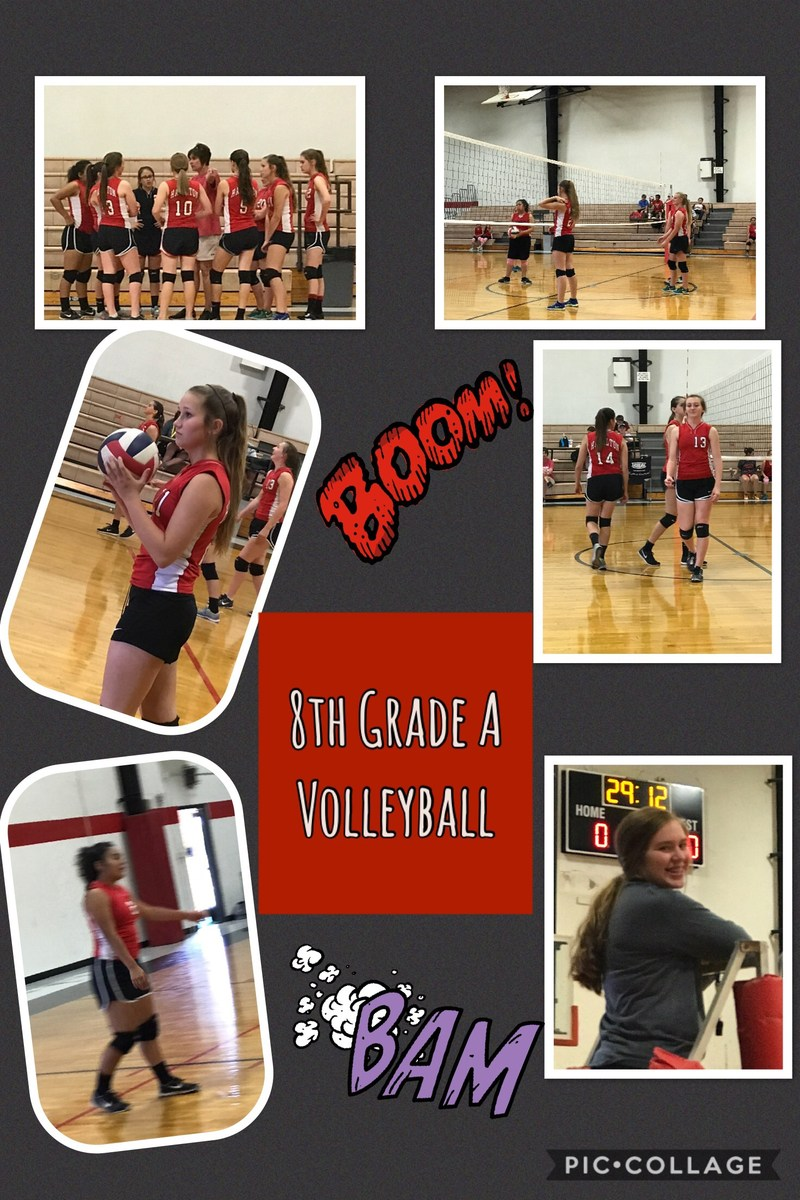 HJH Volleyball in Full Swing Thumbnail Image