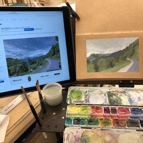 Virtual Plein Air Painting