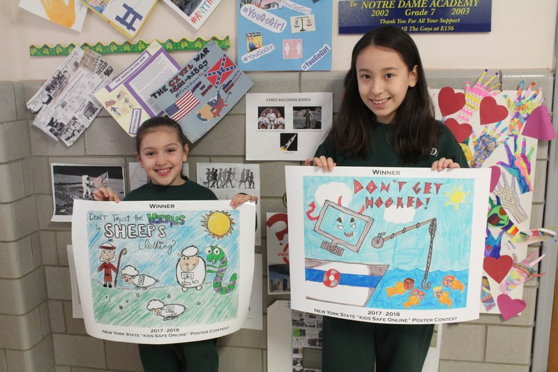New York State Kids Safe Online Poster Contest Featured Photo