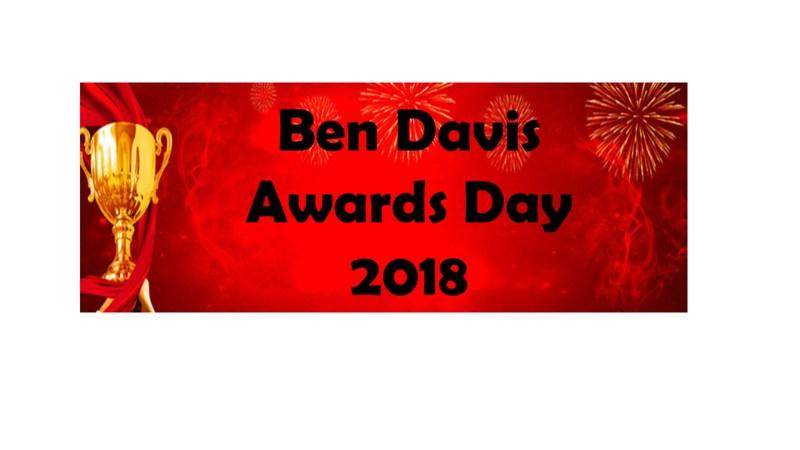 Ben Davis Awards Day