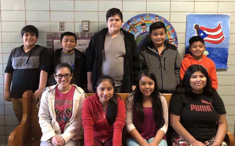 2017-18 Middle School Excel Ambassadors