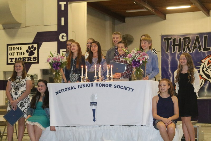NJHS Inducts New Members Thumbnail Image