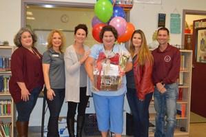 Jennifer Hoelscher awarded Alternative Center Teacher of the Year