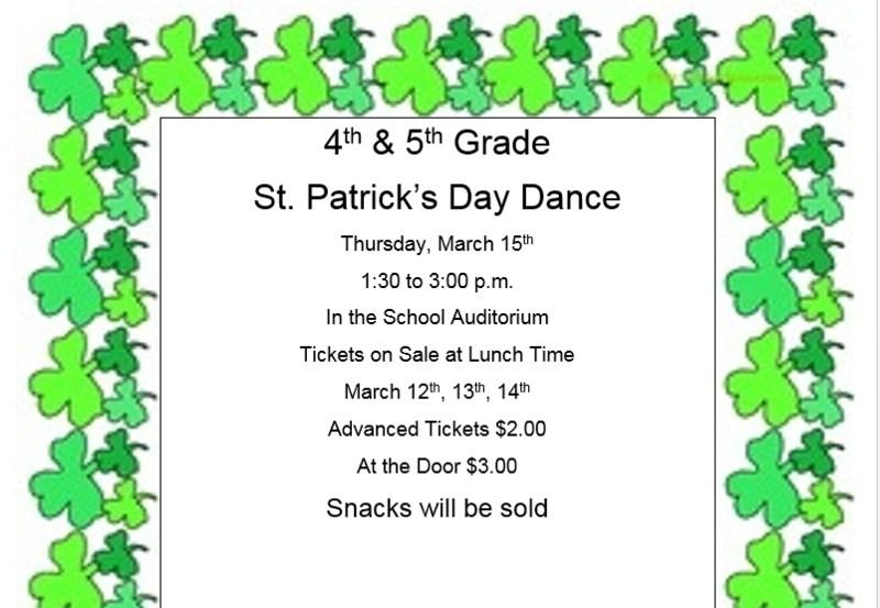 St. Patrick's Day Dance, grades 4 & 5 Thumbnail Image