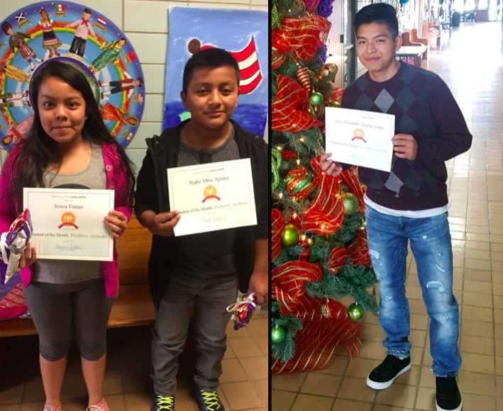 November Student of the Month Winners!