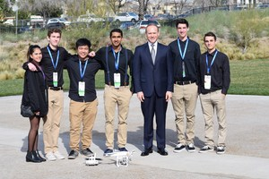 ESCEI Students with PLTW CEO Vince Bertram_1.25.17 (2).JPG