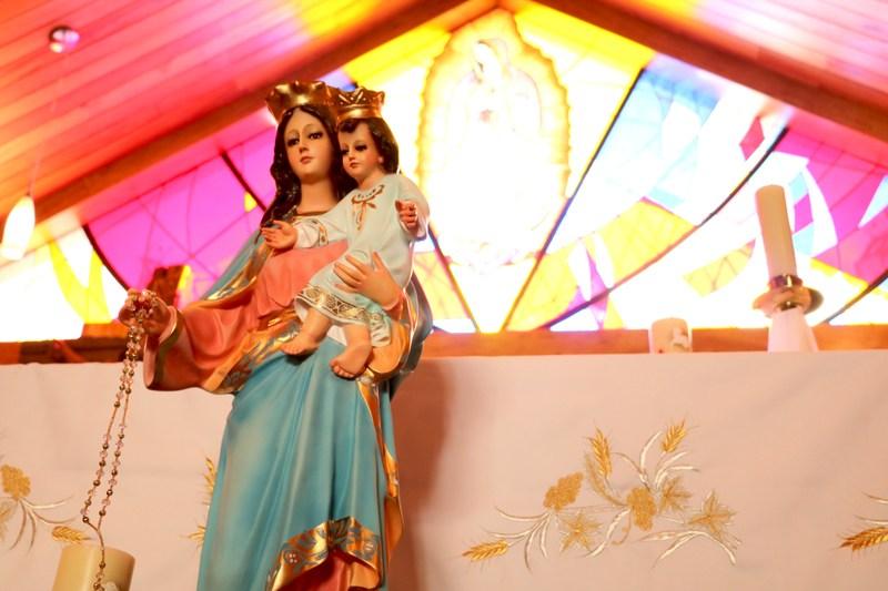 Virgen del Rosario inicia su viaje Featured Photo