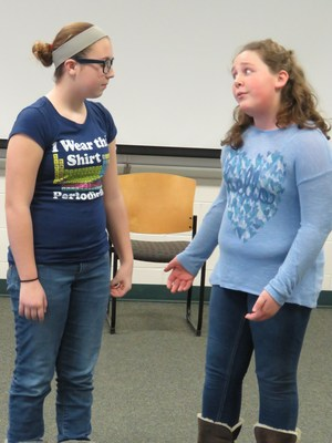TKMS students practice for their upcoming play