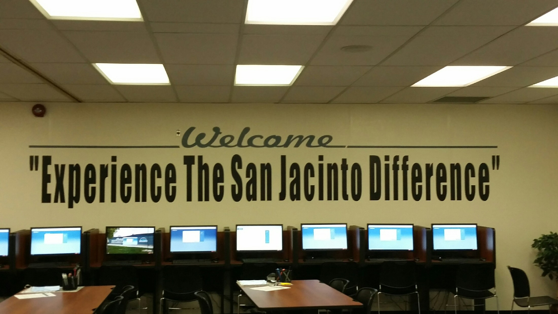 Experience the San Jacinto Difference
