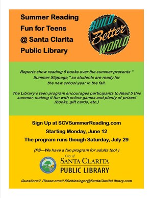 Summer Reading for Teens image