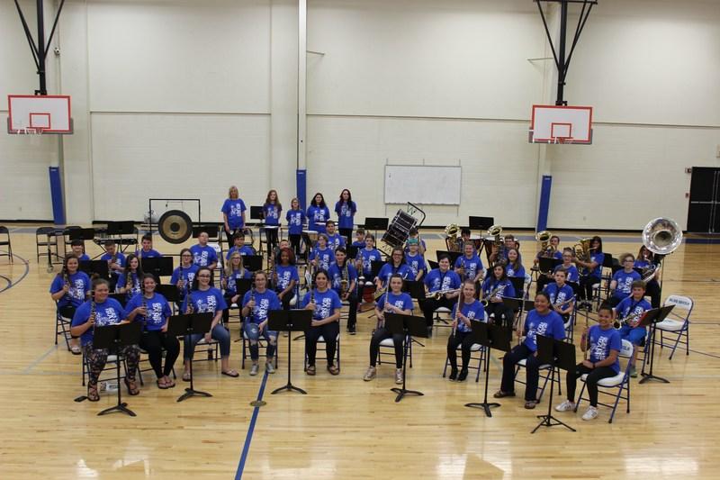 VMS Band group photo