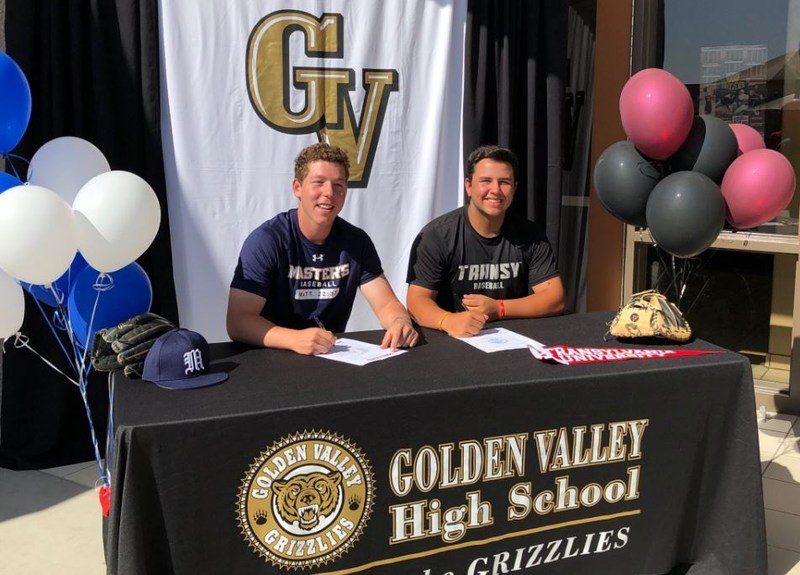 GV Baseball Players Commit Featured Photo