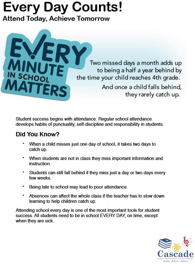 Every minute of school matters.