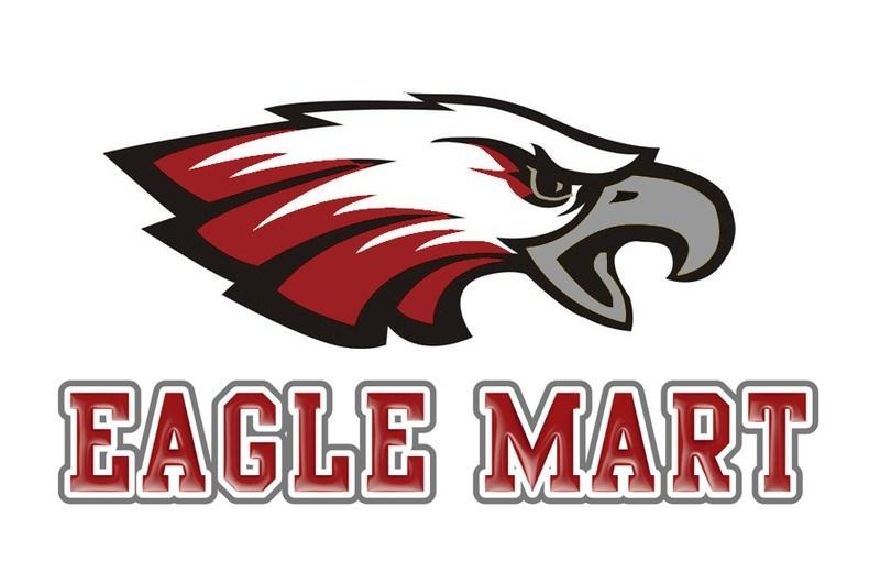 Eagle Mart with the Eagle mascot logo
