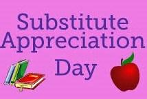 Substitute Appreciation