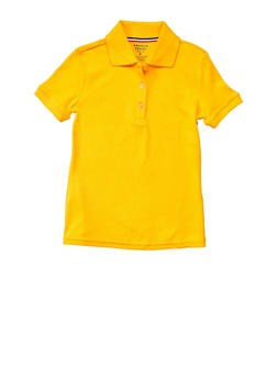 Girls Yellow Polo