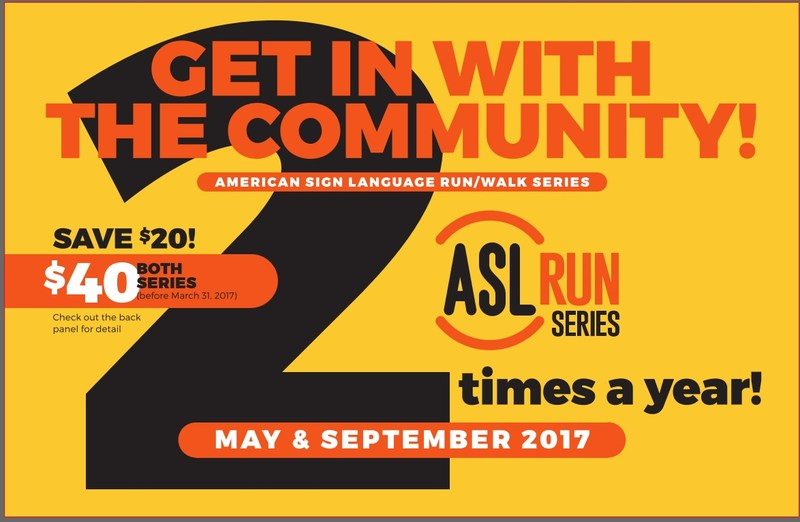 ASL Run Series Flyer
