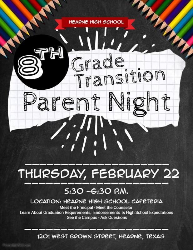 8th Grade Transition