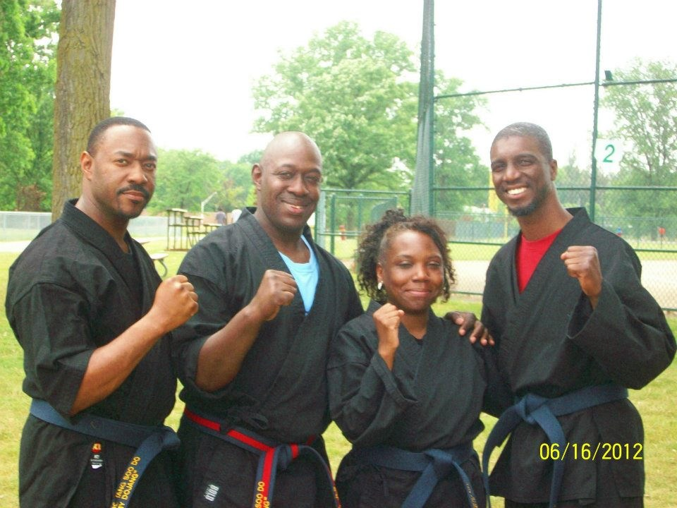 My dojo instructors