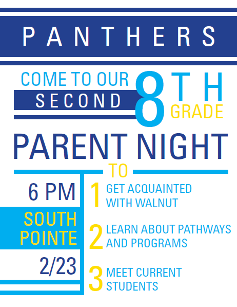 South Pointe 8th Grade: Parent Night Thumbnail Image