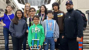 Science Team takes 3nd Place in TMSCA Championship State Meet at UTSA on April 22nd, 2017.