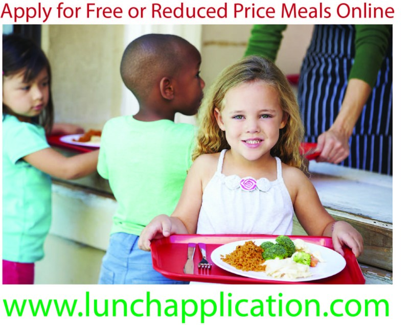 Free & Reduced lunch flyer