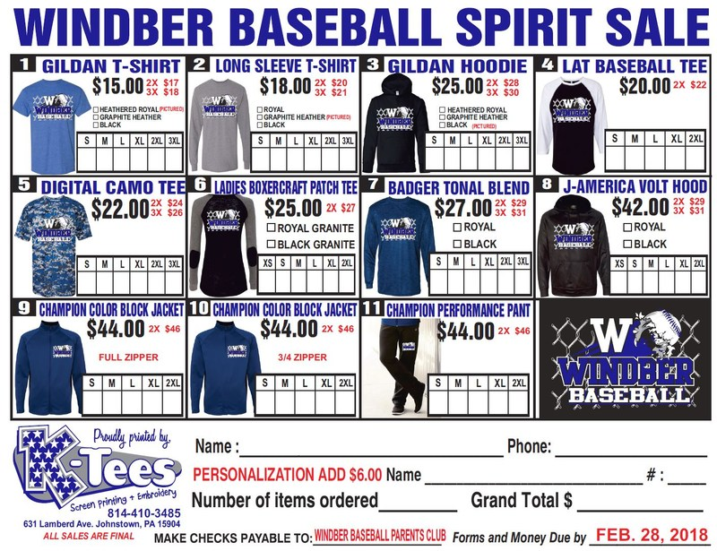 Baseball Spirit Sale