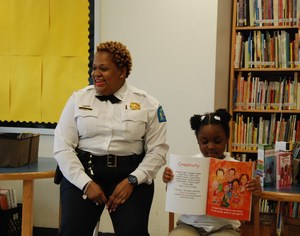 Lt. Allen, SLMPD, Old North African American Read-In