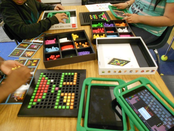 Bloxels Builders at Redwood Elementary Thumbnail Image