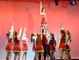 PJ Bring It On pyramid