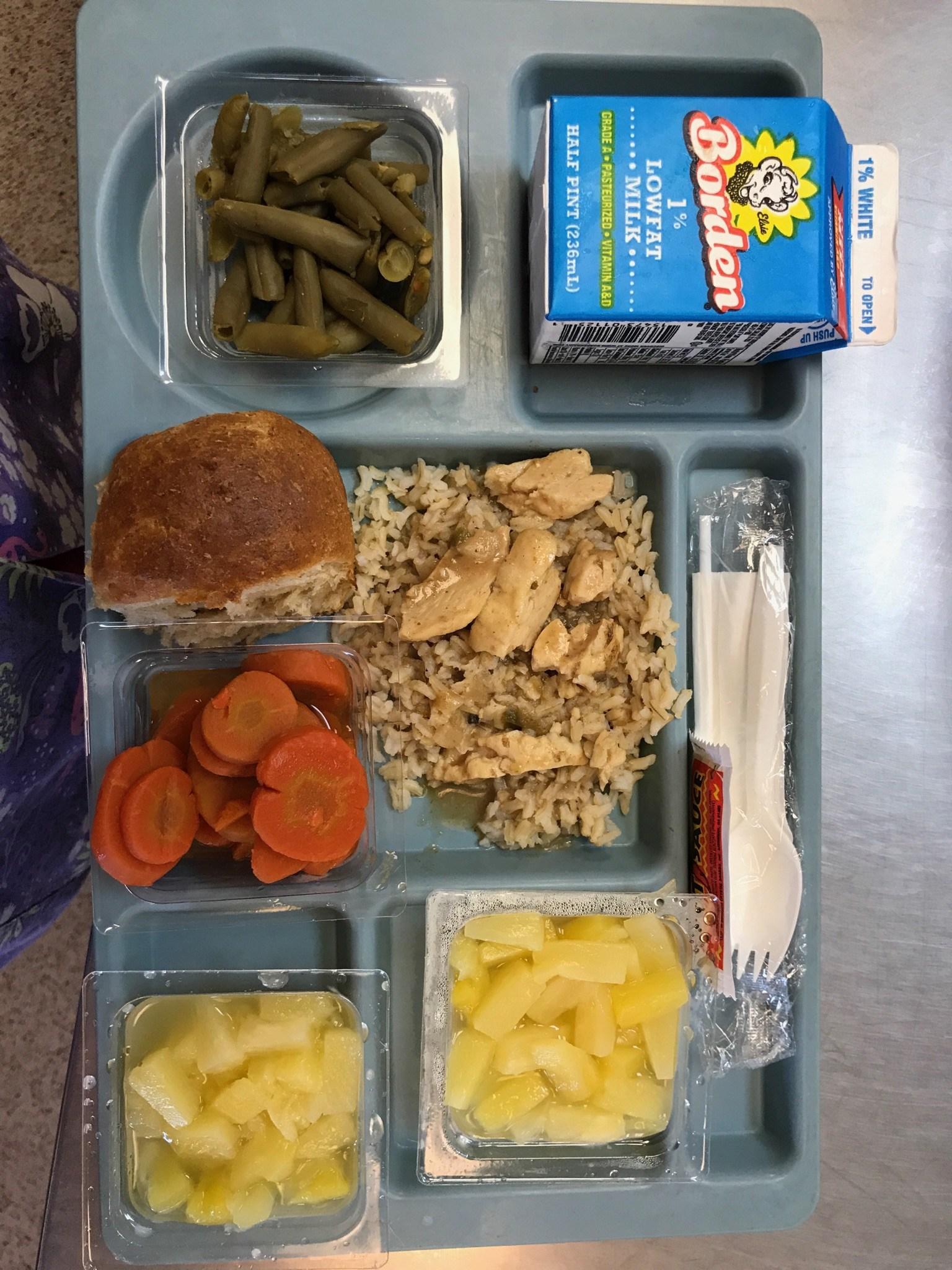 Chicken Stew Lunch Tray