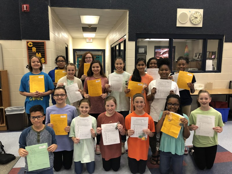Cedar Ridge Middle School Band Brings Home 64 Medals from The Solo & Ensemble Festival Featured Photo