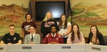 AAHS Student Athlete Group Photo of Spring College Signing