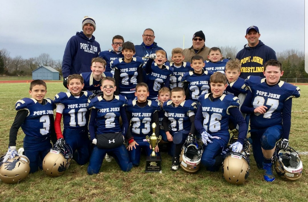 Jr Lions 3rd/4th grade football team