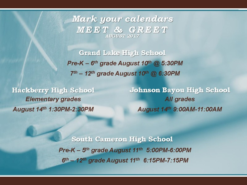 Meet & Greet Dates Thumbnail Image