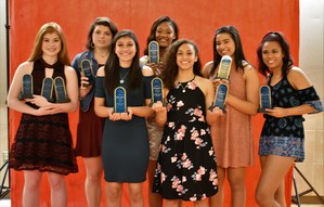 Lady Bears Basketball Players Earn All-District Honors