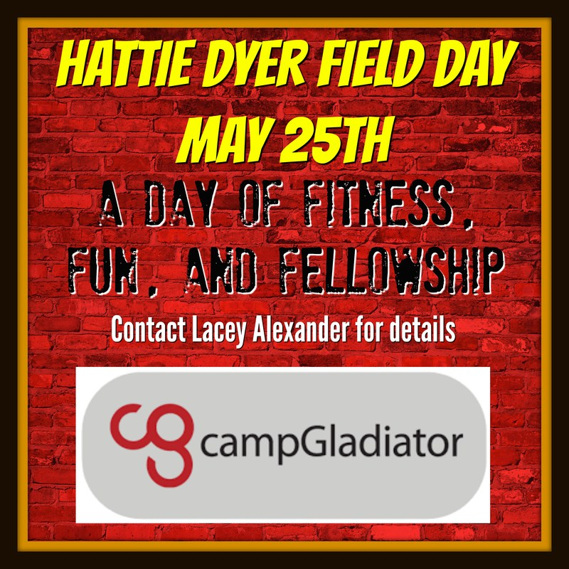 Hattie Dyer Field Day May 25th Thumbnail Image