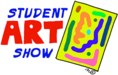 Student Art Show with painting