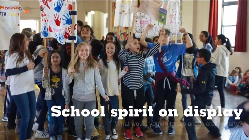 Catholic Schools Week students.