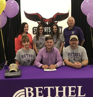 Bryson Hammonds signs with Bethel University